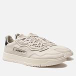 Мужские кроссовки adidas Originals Super Court Premiere Raw White/Core White/Off White фото- 2