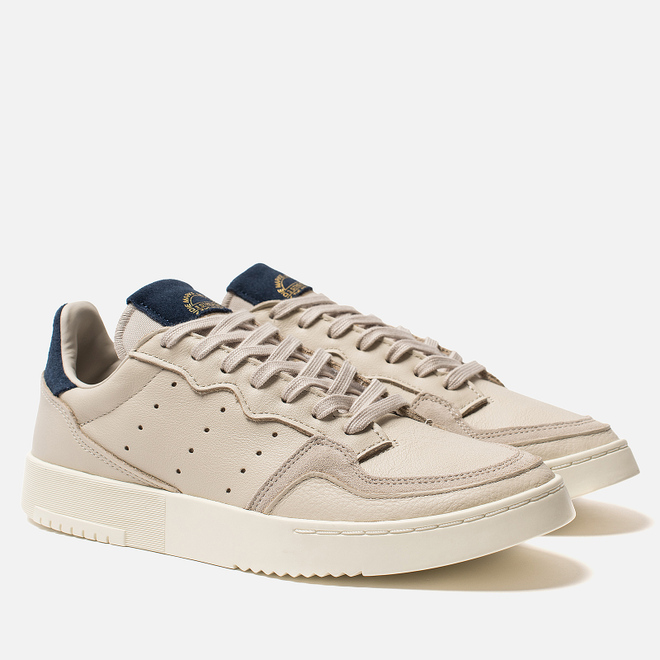 Мужские кроссовки adidas Originals Supercourt Clear Brown/Clear Brown/Collegiate Navy