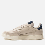 Мужские кроссовки adidas Originals Supercourt Clear Brown/Clear Brown/Collegiate Navy фото- 2