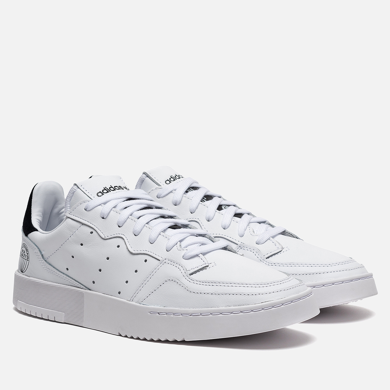 Мужские кроссовки adidas Originals Supercourt Cloud White/Cloud White/Core Black