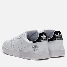 Мужские кроссовки adidas Originals Supercourt Cloud White/Cloud White/Core Black фото- 2