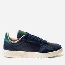 Мужские кроссовки adidas Originals Supercourt Collegiate Navy/Collegiate Navy/Collegiate Green фото- 0