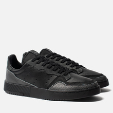 Мужские кроссовки adidas Originals Supercourt Core Black/Core Black/Dgh Solid Grey фото- 0
