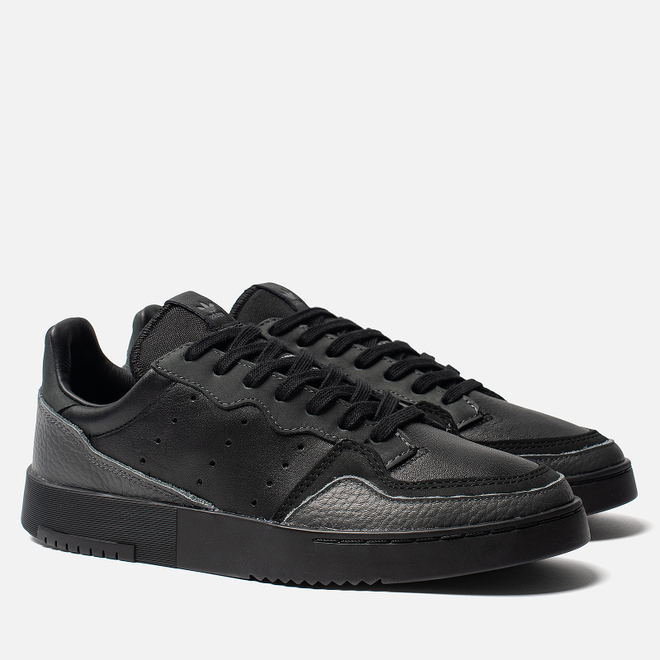 Мужские кроссовки adidas Originals Supercourt Core Black/Core Black/Dgh Solid Grey
