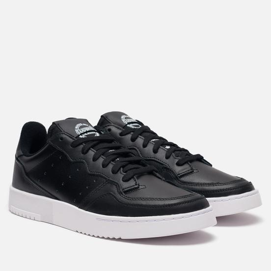 Кроссовки adidas Originals Supercourt Core Black/Core Black/White