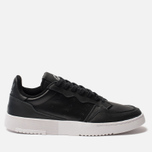 Кроссовки adidas Originals Supercourt Core Black/Core Black/White фото- 0