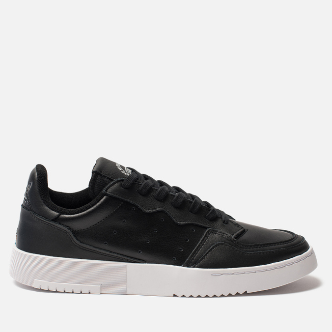 Кроссовки adidas Originals Supercourt Core Black/Core Black/White
