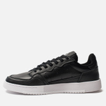 Кроссовки adidas Originals Supercourt Core Black/Core Black/White фото- 1