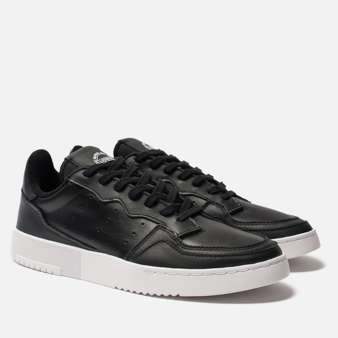 Мужские кроссовки adidas Originals Supercourt Core Black/Core Black/White