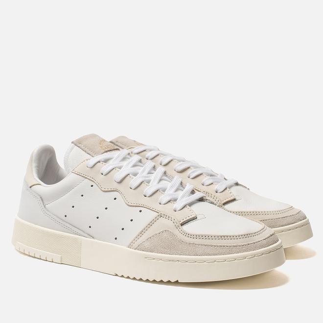Мужские кроссовки adidas Originals Supercourt Crystal White/Chalk White/Off White