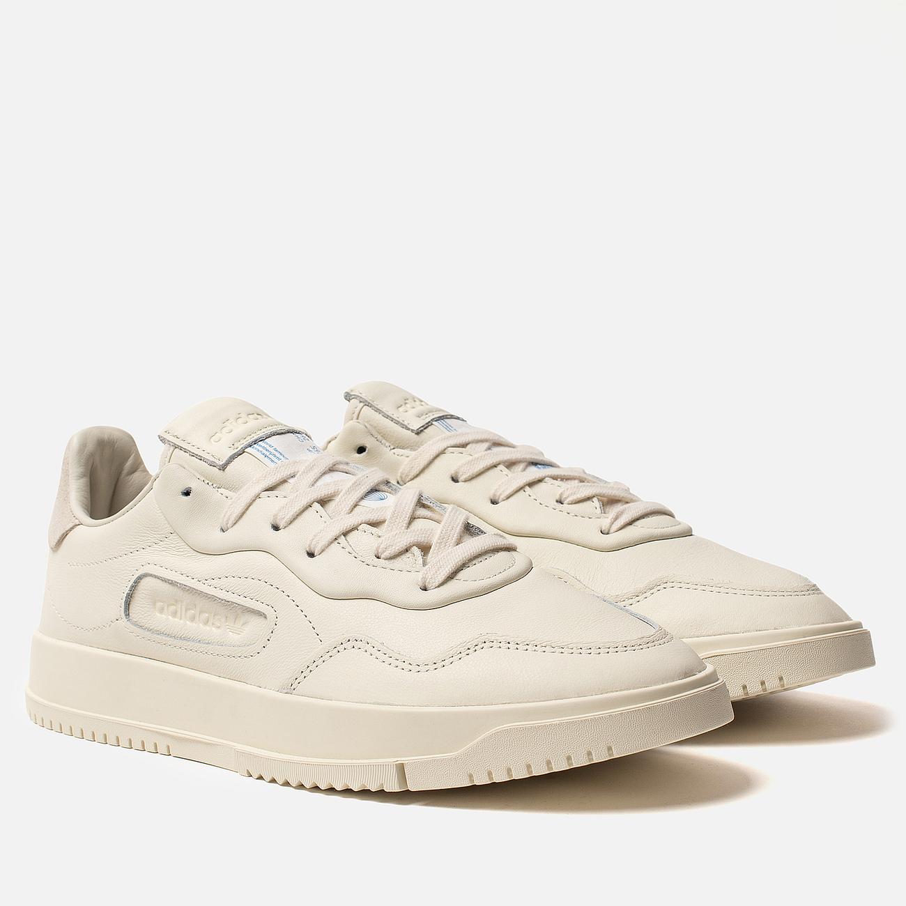 Мужские кроссовки adidas Originals Supercourt Premiere Off White/Off White/Off White