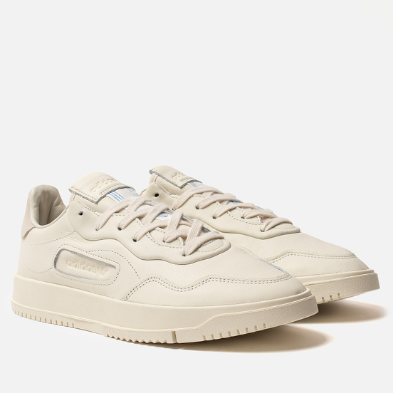 Мужские кроссовки adidas Originals Supercourt Premiere Off White/Off White/Off White