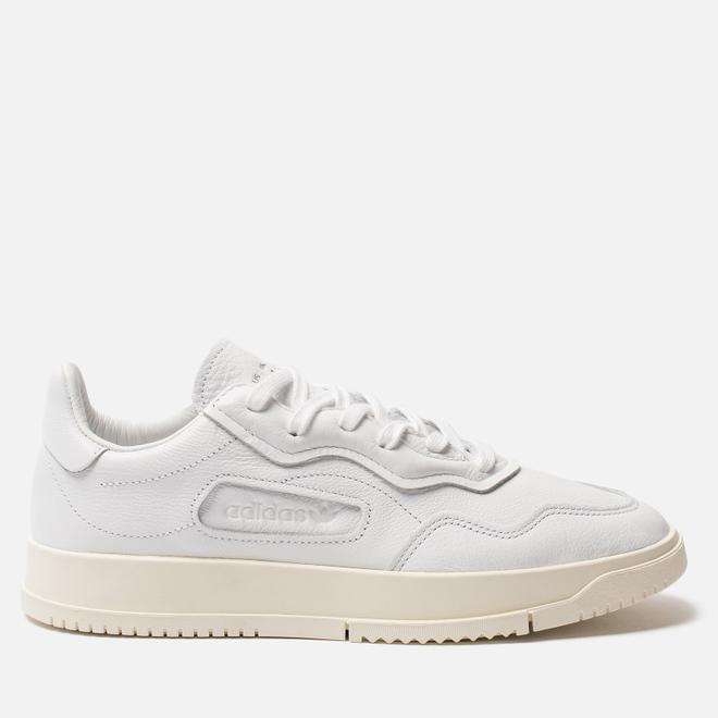 Мужские кроссовки adidas Originals Super Court Premiere White/White/Core Black
