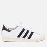 Кроссовки adidas Originals Superstar 80s Classic White/Black/Chalk фото- 0