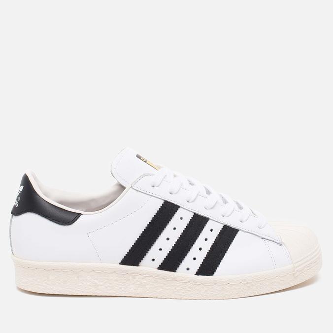 adidas Originals Superstar 80s Classic Sneakers White/Black/Chalk
