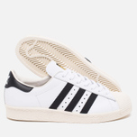 Кроссовки adidas Originals Superstar 80s Classic White/Black/Chalk фото- 2