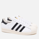 adidas Originals Superstar 80s Classic Sneakers White/Black/Chalk photo- 1