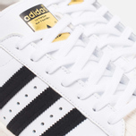 adidas Originals Superstar 80s Classic Sneakers White/Black/Chalk photo- 5