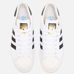 adidas Originals Superstar 80s Classic Sneakers White/Black/Chalk photo- 4