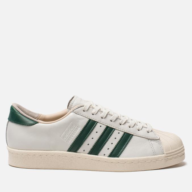 Мужские кроссовки adidas Originals Superstar 80s Recon Crystal White/Core Green/Off White