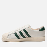 Мужские кроссовки adidas Originals Superstar 80s Recon Crystal White/Core Green/Off White фото- 1