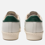 Мужские кроссовки adidas Originals Superstar 80s Recon Crystal White/Core Green/Off White фото- 3