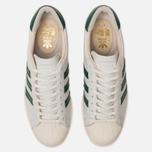 Мужские кроссовки adidas Originals Superstar 80s Recon Crystal White/Core Green/Off White фото- 5
