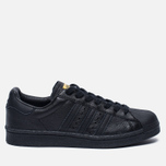 Мужские кроссовки adidas Originals Superstar Boost Core Black/Gold Metallic фото- 0