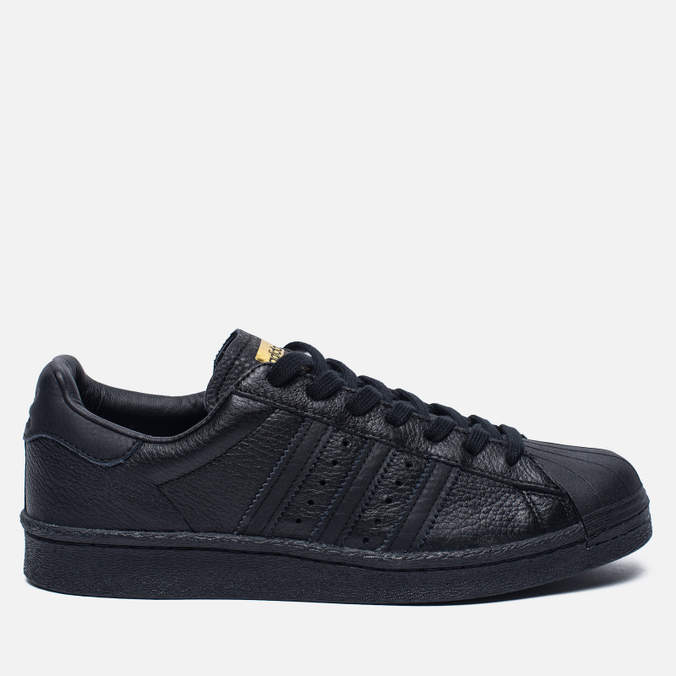Мужские кроссовки adidas Originals Superstar Boost Core Black/Gold Metallic