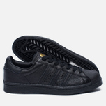 Мужские кроссовки adidas Originals Superstar Boost Core Black/Gold Metallic фото- 1