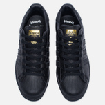 Мужские кроссовки adidas Originals Superstar Boost Core Black/Gold Metallic фото- 5