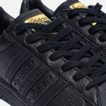 Мужские кроссовки adidas Originals Superstar Boost Core Black/Gold Metallic фото- 6