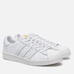 Мужские кроссовки adidas Originals Superstar Boost Vintage White/Gold Metallic фото- 2