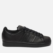 Кроссовки adidas Originals Superstar Core Black/Core Black/Core Black фото- 3