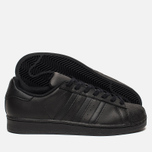 Кроссовки adidas Originals Superstar Core Black/Core Black/Core Black фото- 2