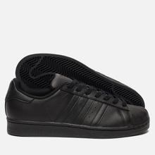 Кроссовки adidas Originals Superstar Core Black/Core Black/Core Black фото- 4