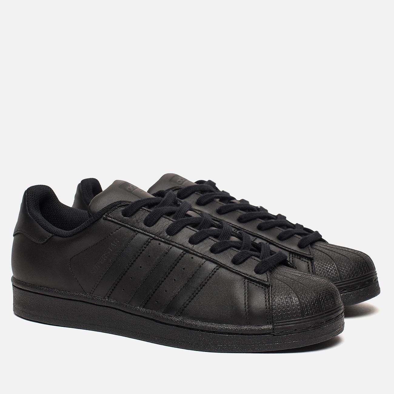 Кроссовки adidas Originals Superstar Core Black/Core Black/Core Black