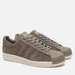Кроссовки adidas Originals Superstar Ultrastar 80s Olive/Off White фото- 2