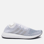 Кроссовки adidas Originals Swift Run Primeknit White/Grey One/Core Black фото- 0