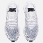 Кроссовки adidas Originals Swift Run Primeknit White/Grey One/Core Black фото- 4