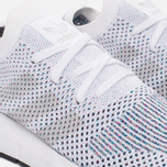 Кроссовки adidas Originals Swift Run Primeknit White/Grey One/Core Black фото- 5