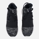 Мужские кроссовки adidas Originals Tubular Doom Primeknit Core Black/Granite/Vintage White фото- 4
