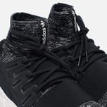 Мужские кроссовки adidas Originals Tubular Doom Primeknit Core Black/Granite/Vintage White фото- 5