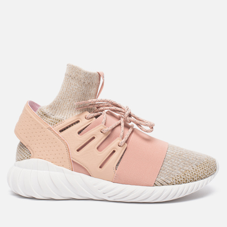 Мужские кроссовки adidas Originals Tubular Doom Primeknit Pale Nude/Clear Brown/Vintage White