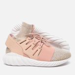 Мужские кроссовки adidas Originals Tubular Doom Primeknit Pale Nude/Clear Brown/Vintage White фото- 1