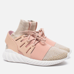 Мужские кроссовки adidas Originals Tubular Doom Primeknit Pale Nude/Clear Brown/Vintage White фото- 2