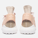 Мужские кроссовки adidas Originals Tubular Doom Primeknit Pale Nude/Clear Brown/Vintage White фото- 3