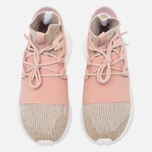Мужские кроссовки adidas Originals Tubular Doom Primeknit Pale Nude/Clear Brown/Vintage White фото- 4