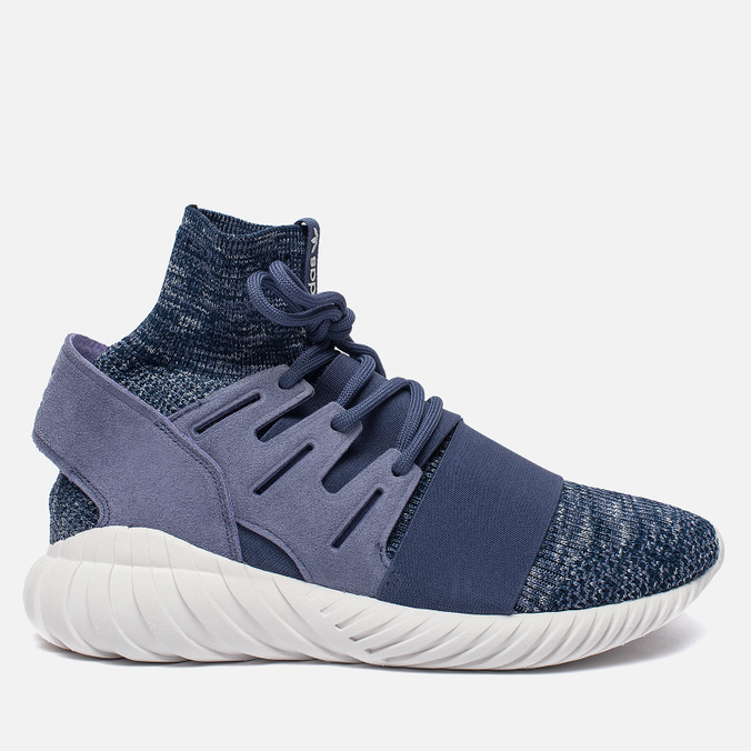 Мужские кроссовки adidas Originals Tubular Doom Primeknit Super Purple/Collegiate Navy/Vintage White