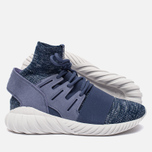 Мужские кроссовки adidas Originals Tubular Doom Primeknit Super Purple/Collegiate Navy/Vintage White фото- 1